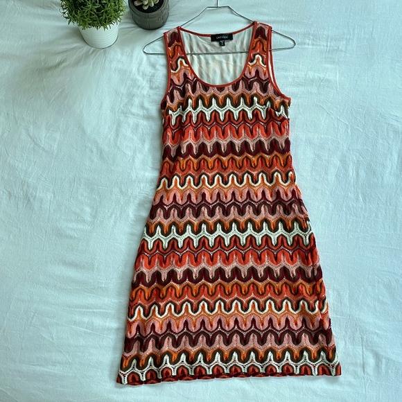 Karen Kane Dresses & Skirts - Karen Kane Dress (coral + patterned)